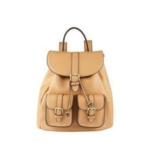Hibou beige backpack
